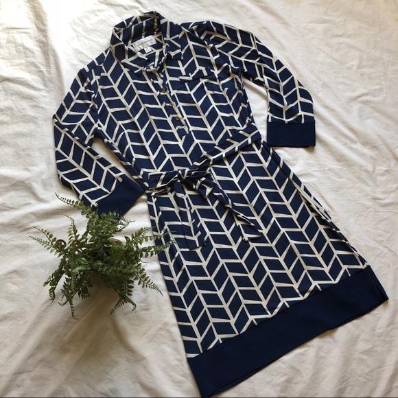 Donna Morgan Dresses Stitch Fix Marlow Jersey Shirt Dress Poshmark